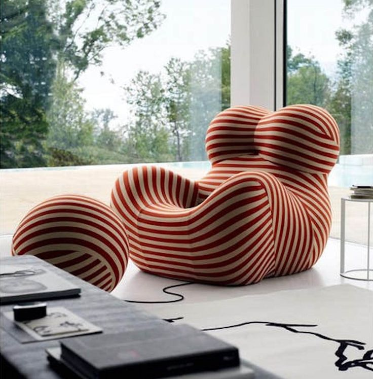 Up Series 2000 by Gaetano Pesce for B&B Italia | Space Furniture | est living