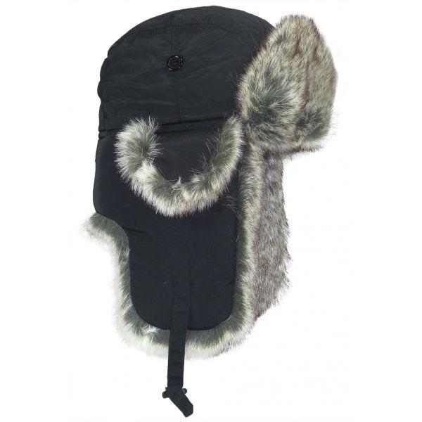 Chapka Enfant Sibire Herman Noir #mode #hiver #chapka #nouveauté #hermanheadwear disponible sur @hatshowroom