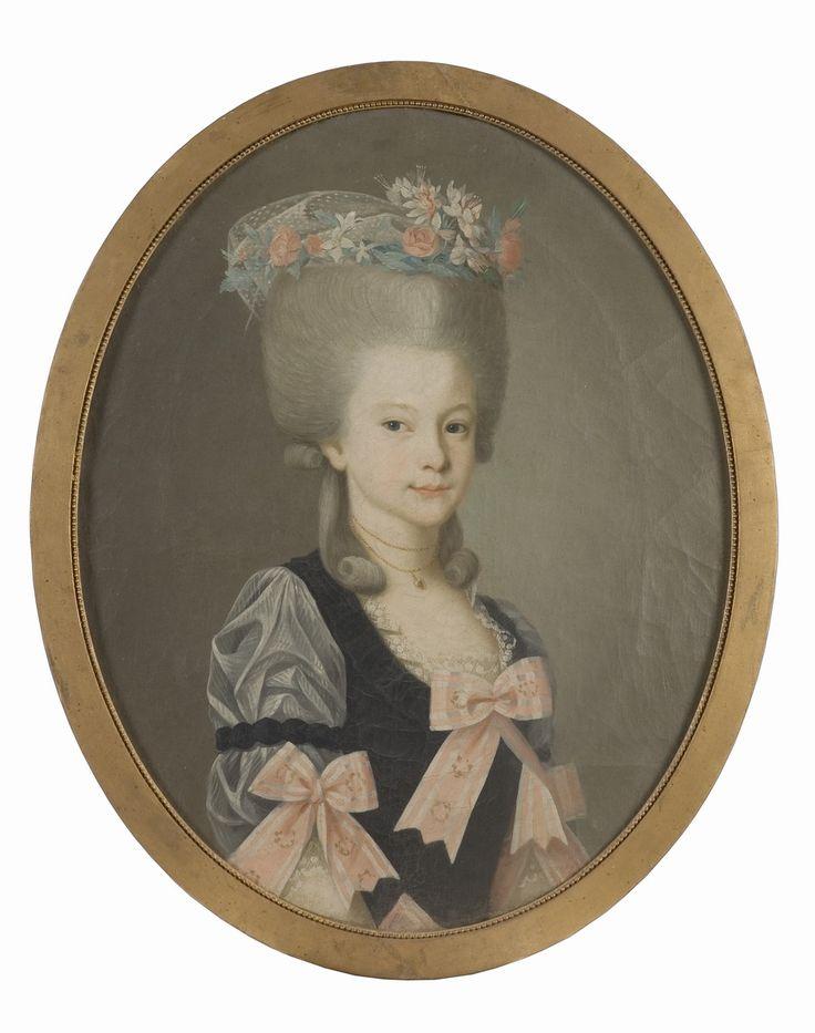 1791 Brita Charlotta Wattrang (1775-1850), gift med friherre Otto Ludvig Benedikt Wrangel af Lindeberg - Nationalmuseum - 129462.tif