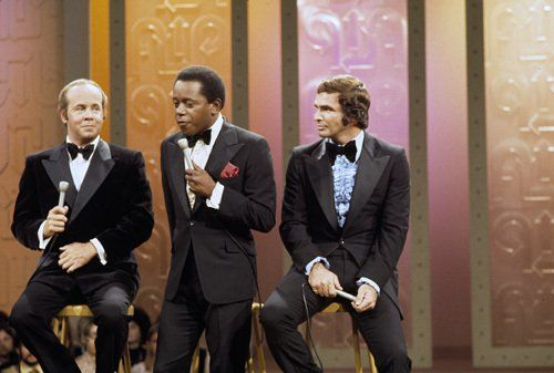 Burt Reynolds with Tim Conway and Flip Wilson on