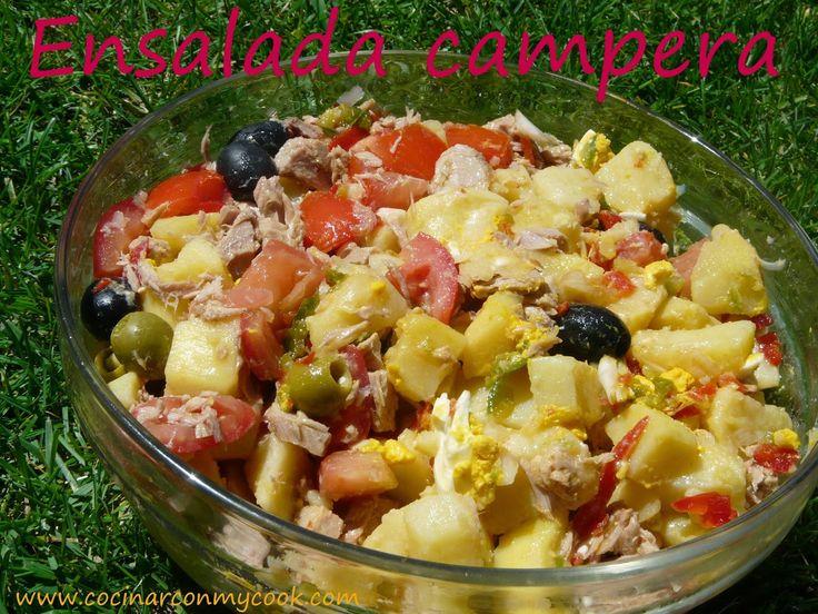 Cocinar con MyCook: ENSALADA CAMPERA