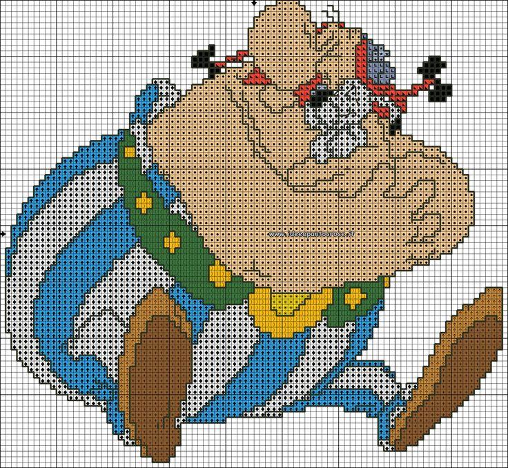Schema Obelix e Idefix
