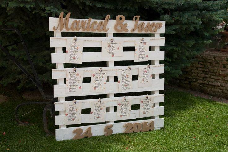 Ideas de palets para bodas