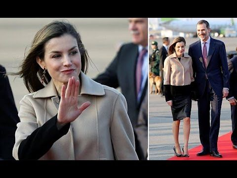 Queen Letizia and King Felipe Arrives in Tokyo at the Start of Four-day ...