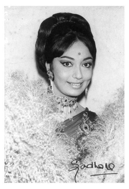 Sadhana Shivdesani (Bollywood veteran actress) an old still of her..