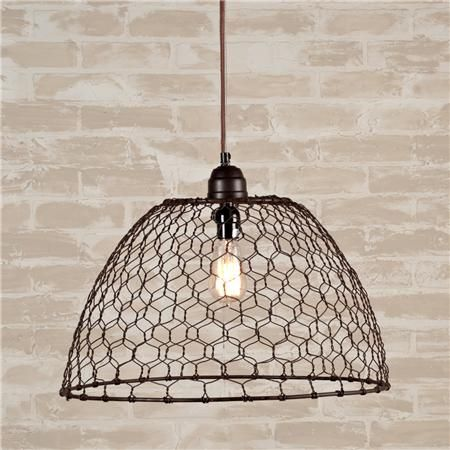 11 Things To Do With Chicken Wire   Page 6 Of 8. Pendant Lights ...