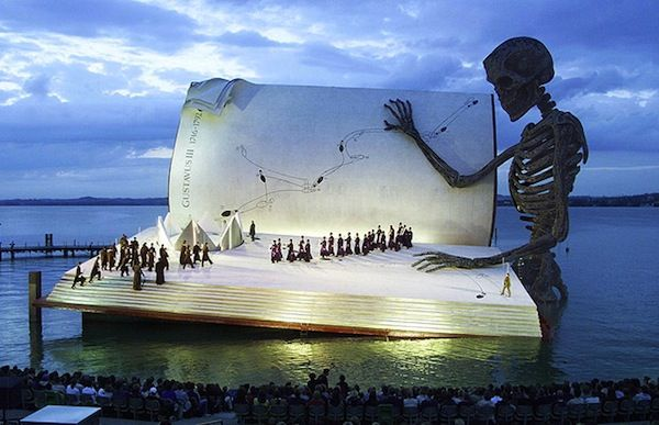 Floating Theater, Austria