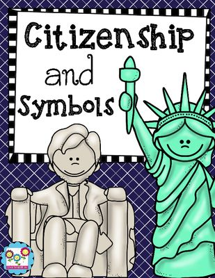 Citizenship, Communities, and Symbols from Create abilities on TeachersNotebook.com -  (37 pages)  - Citizenship, Communities, and Symbols
