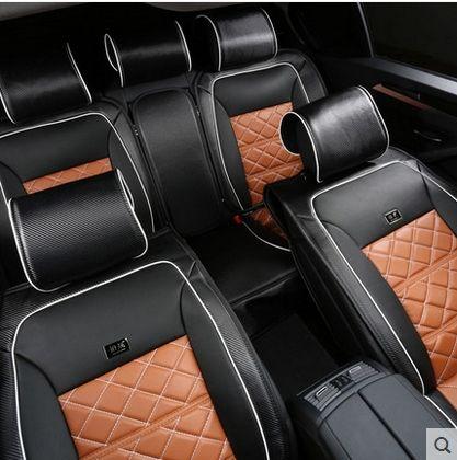 + buen envío gratuito! asiento de seguridad especial cubre para Volkswagen Jetta 2015-2008 fibra de carbono moda cubierta de asiento de cuero para Jetta 2012