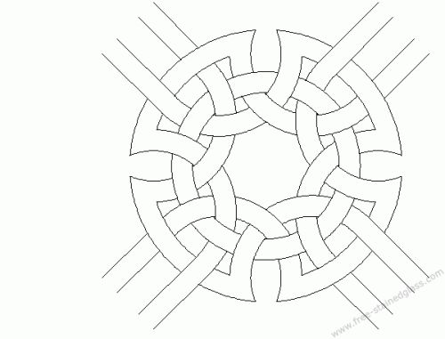 Mosaic Coloring Pages