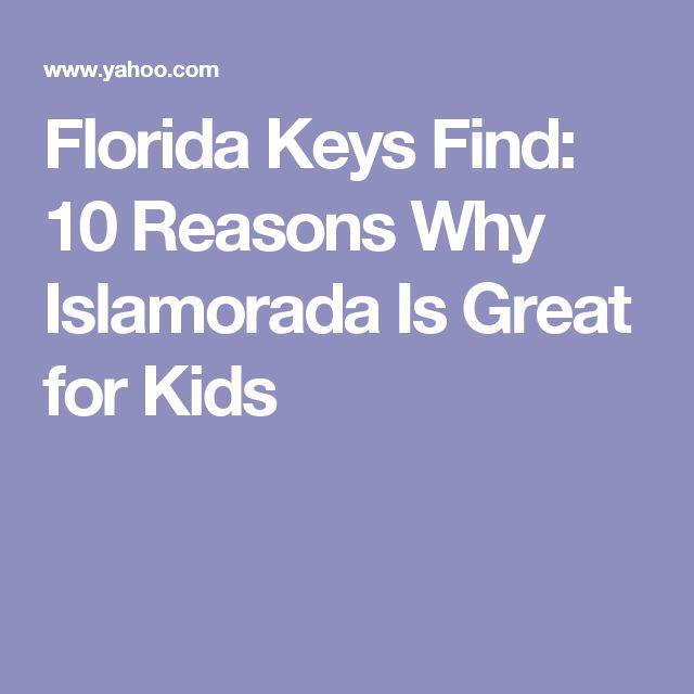 Florida Keys Find: 10 Reasons Why Islamorada Is Great for Kids