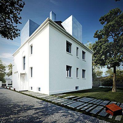 Żywe srebro/Quicksilver  Przebudowa willi z lat 30./A reconstruction of a villa from 1930' Projekt: KMA Architekci