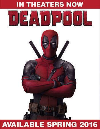 Deadpool Blu-ray/DVD/Digital HD