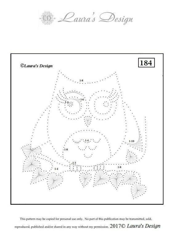 Free download Own pattern LD184 Print as A5 format: