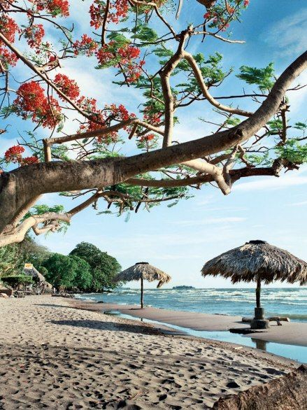 Beaches— Ometepe Island, giving access to freshwater Lake Nicaragua