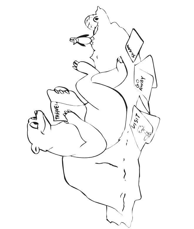 19 best Polar Bear Pattern images on Pinterest Bear patterns