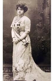 Hatice Sultan (1870-1938), the eldest daughter of the Ottoman sultan Murat V. Late 19th century.