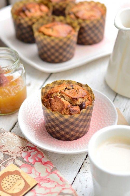 Gesztenyelisztes muffin