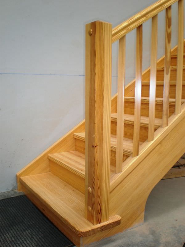 19 best barandillas interiores de madera images on for Escaleras yuste