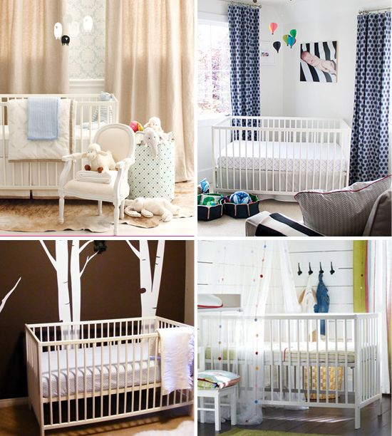 Gulliver Ikea crib. Possible modern style crib for super cheap!