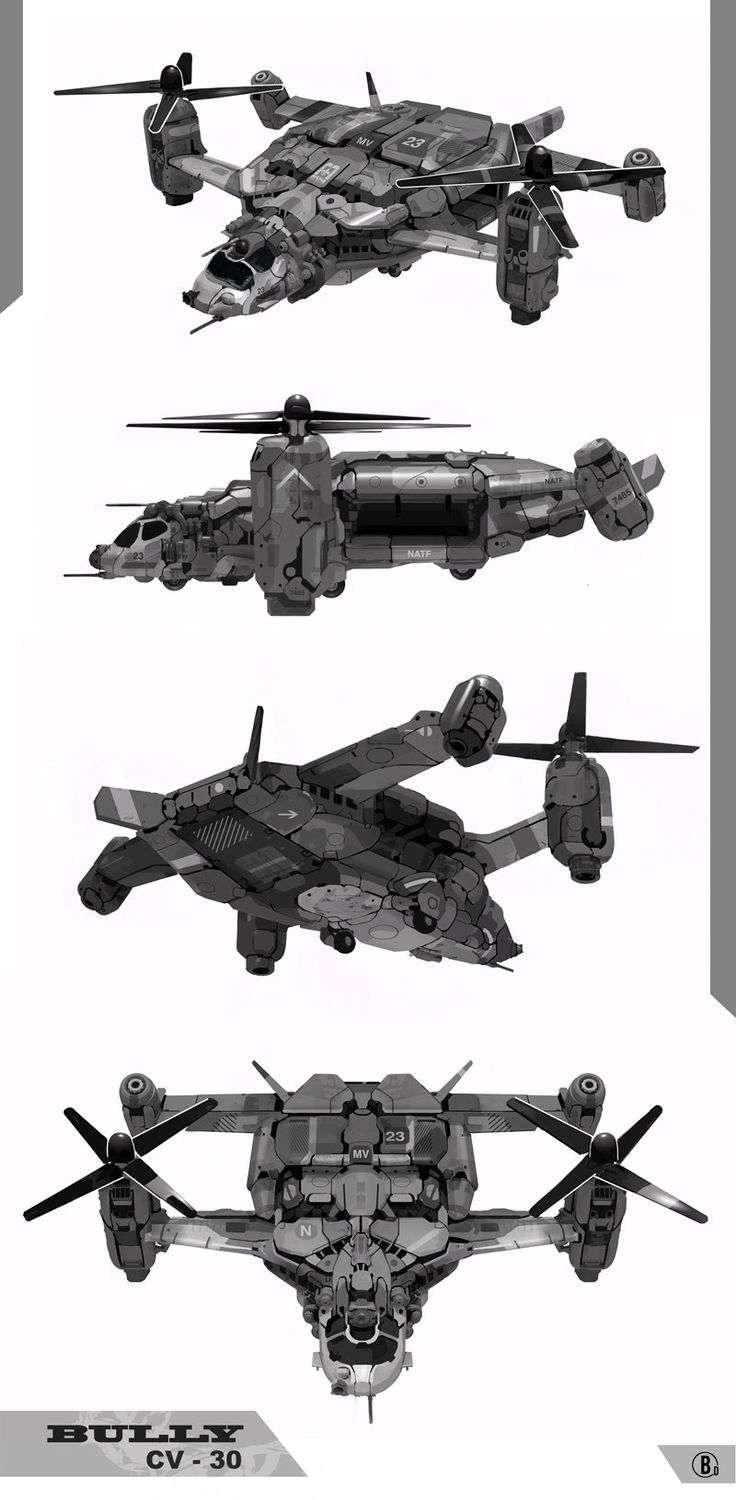 ArtStation - cv-30 bully, Aaron and Darron Smith