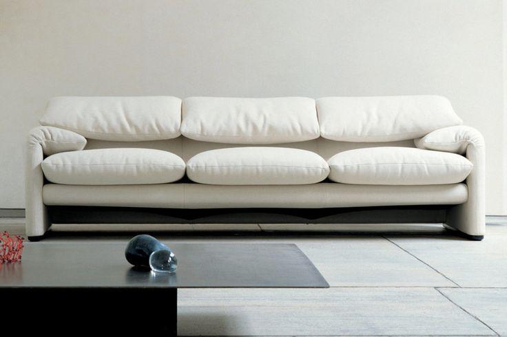Maralunga 3-Sitzer Sofa