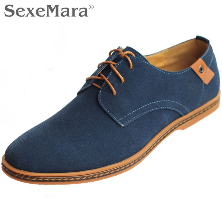 Mannen Schoenen 2017 Lente Herfst Winter Warm Synthetisch Lederen Casual Schoenen Heren Oxfords Outdoor Platte Plus Size Man Hot Koop