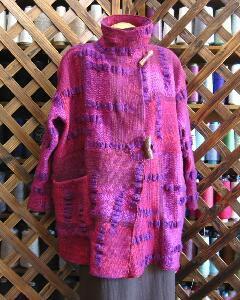手織り服なら岩崎静江の遊び舎・fufufufuku|ており服
