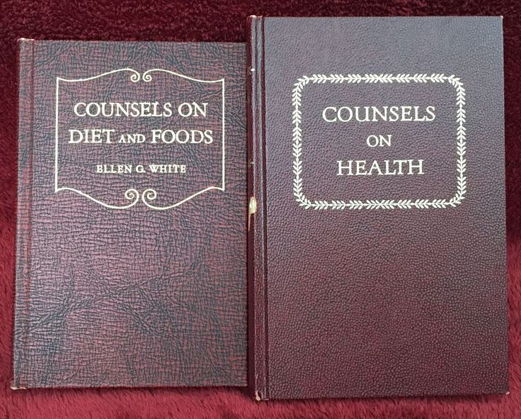 Counsels On Diet And Foods Book