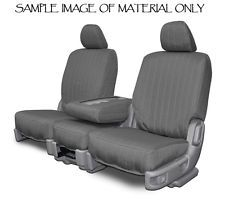 Charcoal Canvas FRONT Custom Seat Covers For Ford Ranger 1991-1997