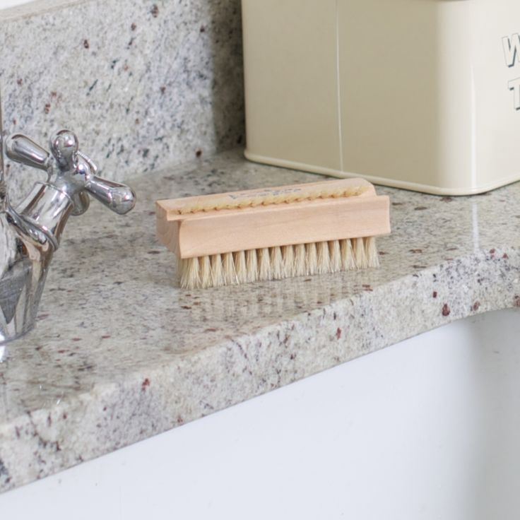 Pure Bristle Nail Brush #cleaning #nails #washing