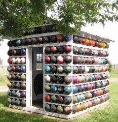 Bowling Ball Garden Bugs | Bowling Ball Yard Art - Holy Bowling Balls!!!