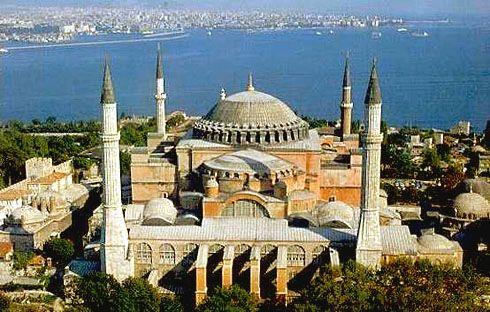 Hagia Sophia: Istanbul, Turkey