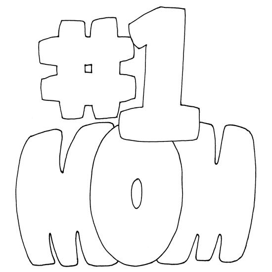 people of a mom coloring pages | Number One Mom Coloring Page | Mothers day coloring pages ...