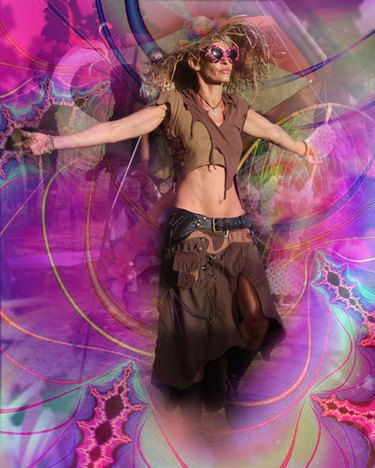 fractal jungle neo space tribe fashion