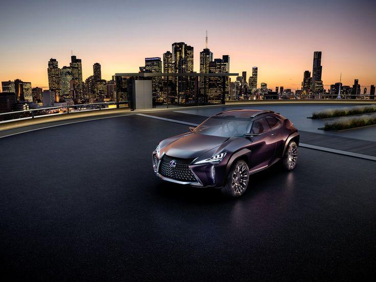 2016 Paris Motor Show – Lexus UX Concept