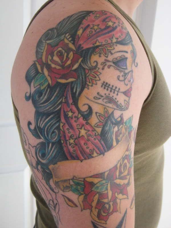 to find a design I liked Sailor Jerry Tattoo Sleeve Designs