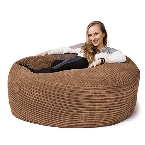 LOUNGE PUG - MAMMOTH Cord Beanbag SAND - GIANT SIZE - This Bean Bag is GREAT for Kids & Adults Lounge Pug http://www.amazon.co.uk/dp/B00LA7FUTS/ref=cm_sw_r_pi_dp_0GlMwb1J752FH