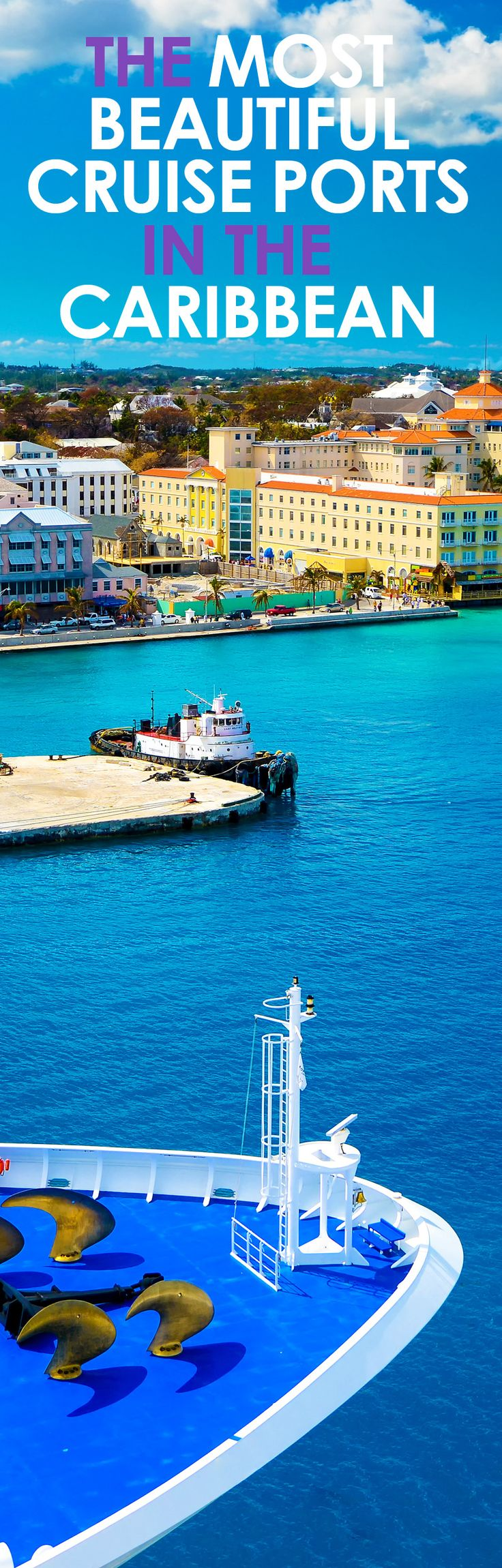 Which are the most beautiful cruise ship ports you have entered? #Cruise #Caribbean #CruiseShips #cruiseport