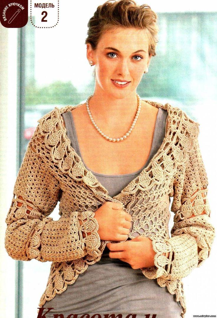 78 best images on pinterest boleros crochet clothes tejedoras en accin bankloansurffo Choice Image