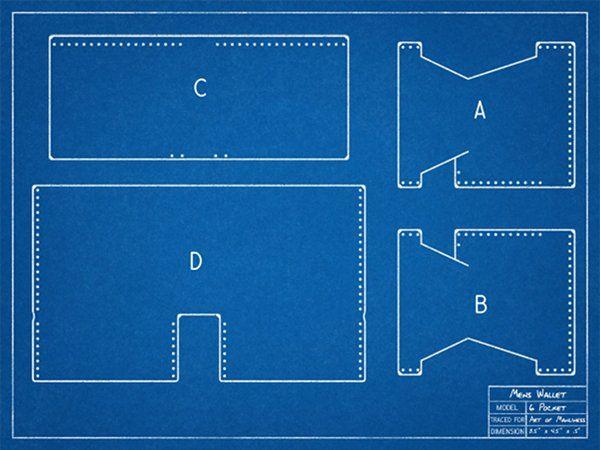 Мастер-класс по созданию handmade бумажника из кожи - оригинальная идея и простое исполнение