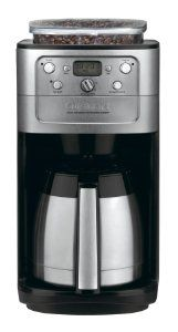 the cuisinart grind u0026 brew thermal coffeemaker with a burr grinder for superior coffee brews up to 12 cups of cofee at a time and offers - Single Cup Coffee Maker Reviews
