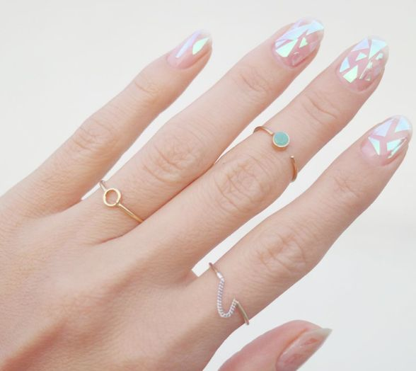 Broken Glass Nails Are The Latest Manicure Trend And They're As Badass As They Sound