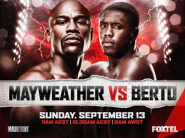 Floyd Mayweather vs Andre Berto Live Stream Showtime PPV Boxing Online   NonstopTvStream