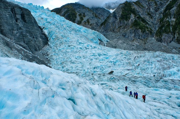 If you're feeling adventurous, hop on a Heli onto the Franz Josef Glacier.