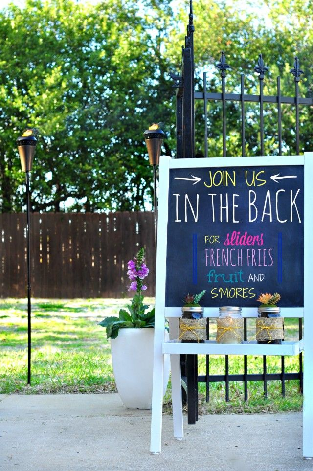7 Tips to Simplify Backyard Parties
