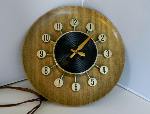 186 Best Tick Tock Mid Century Clock Images On Pinterest