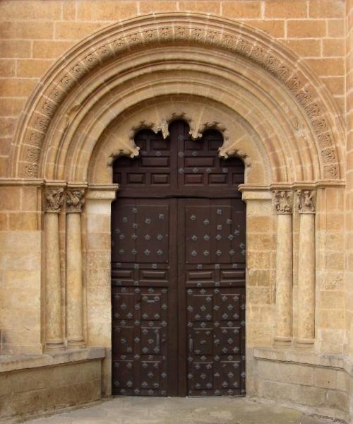 Puerta del Ensolado o de Amayuelas - Catedral de Ciudad Rodrigo, Salamanca