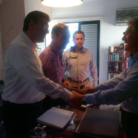 Συνάντηση με τον πρώην Δήμαρχο Αιγιάλειας, κ. Στάθη Θεοδωρακόπουλο