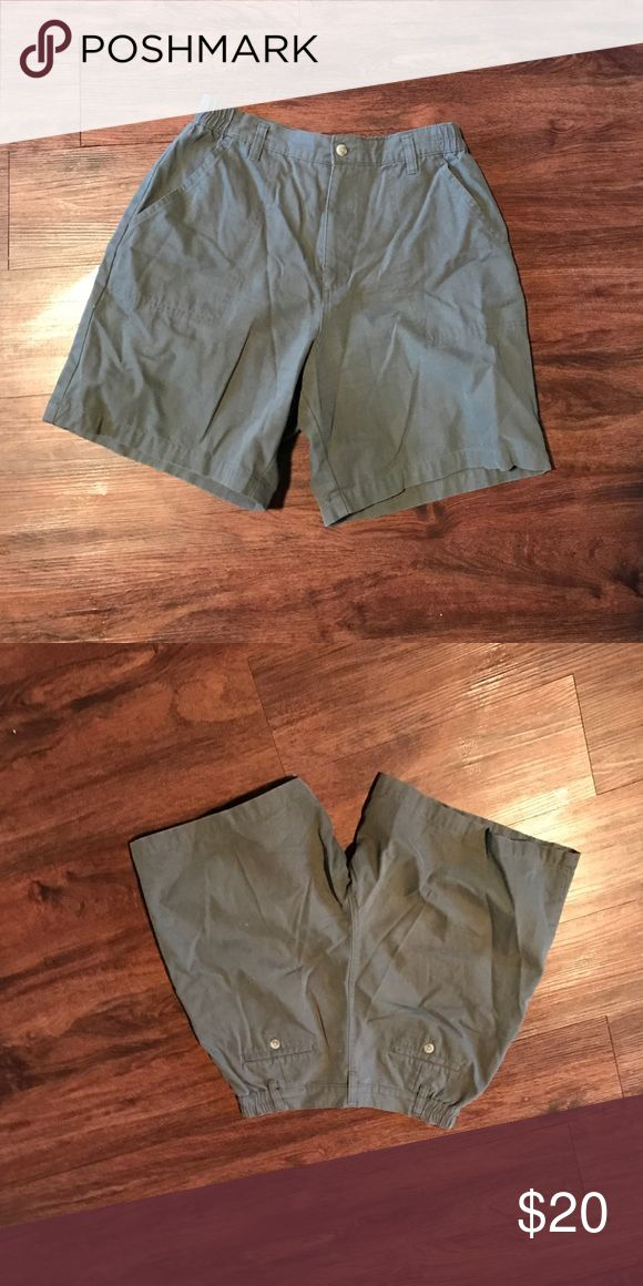 💢NEW LISTING 💢 army green shorts Elastic at hips high waisted 100% cotton northern reflections Shorts
